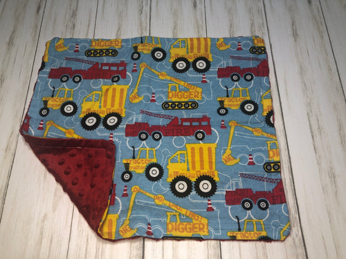 Trucks Dolly Blanket