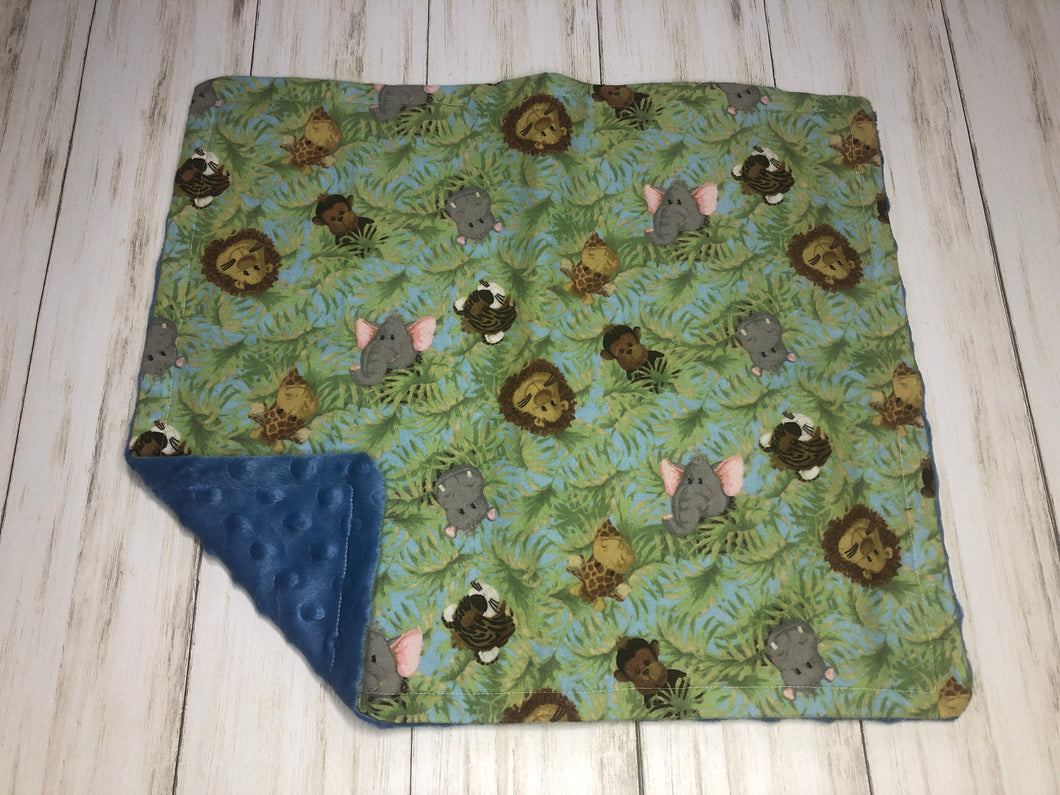 Jungle Animals Dolly Blanket