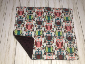 Tribal Owls Dolly Blanket