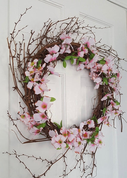 Valentine Wreath, Dogwood Wreath