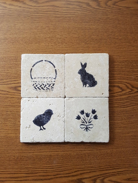 Easter Coasters, Easter Decorations