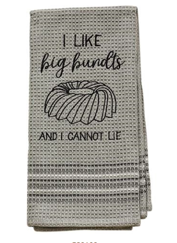 Funny Valentine Gifts, I Like Big Bundts Dishtowel