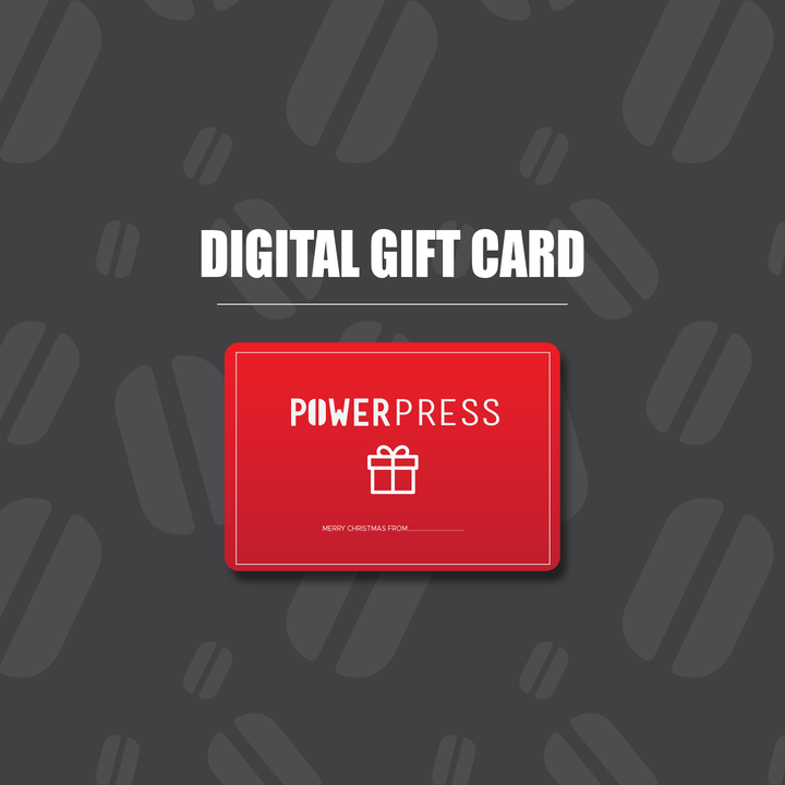 Digital Gift Card - Power Press Coffee