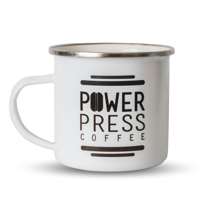 Enamel Mug - Power Press Coffee