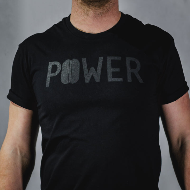 'Long Black' Tee - Power Press Coffee