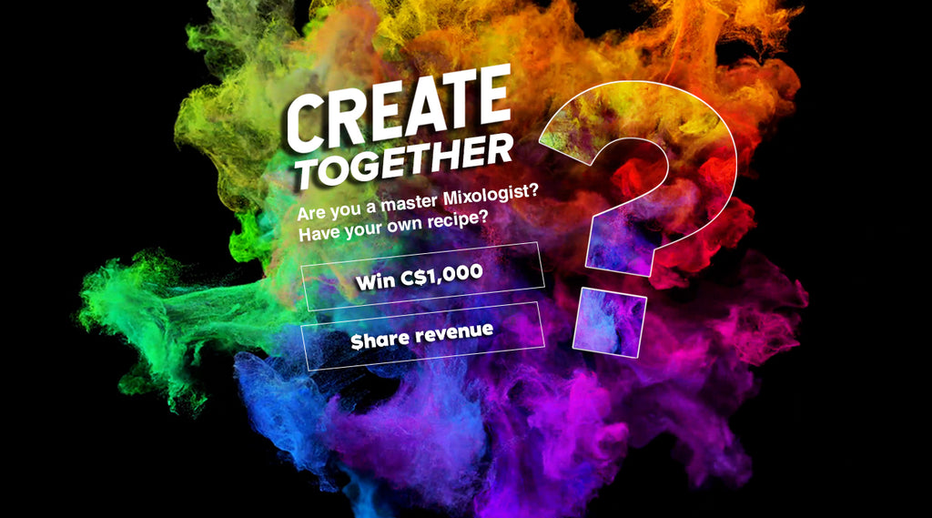 Create Together - Invent your own vape juice flavour