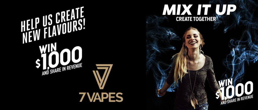 mix it up - Create Together - Invent your own vape juice flavour