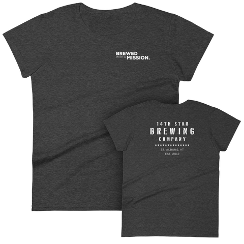 Brewed With A Mission Ladies' Tee
