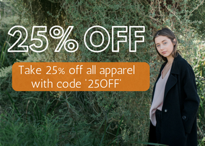 25% OFF FASHION
