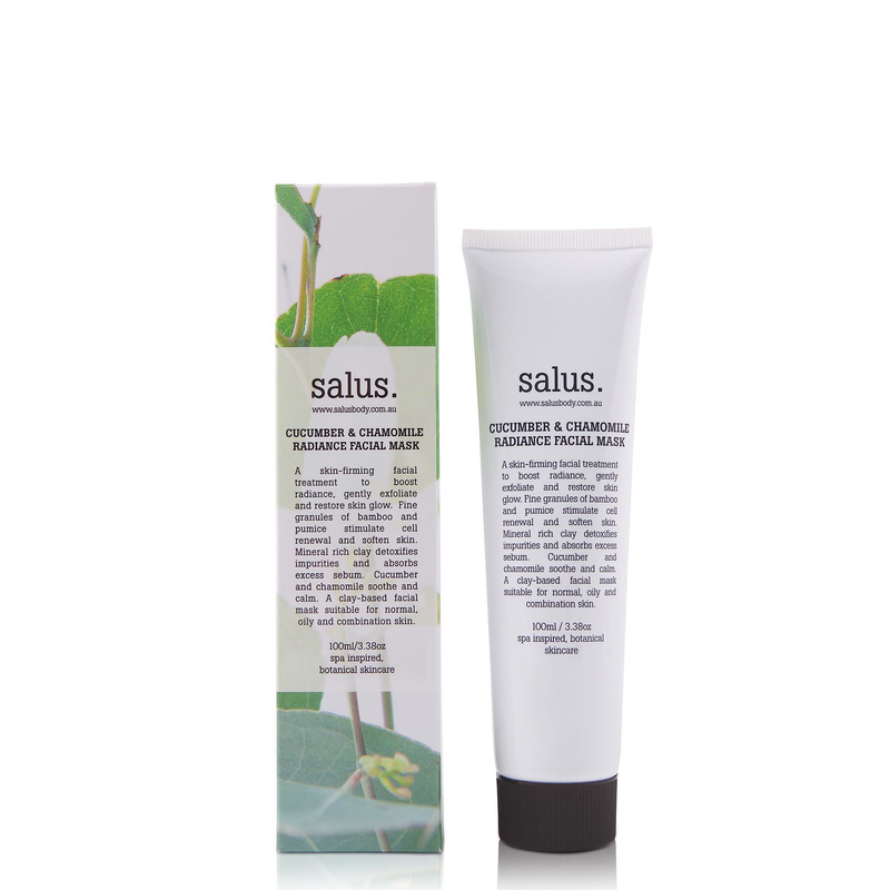 Cucumber & Chamomile Radiance Facial Mask (100ml)