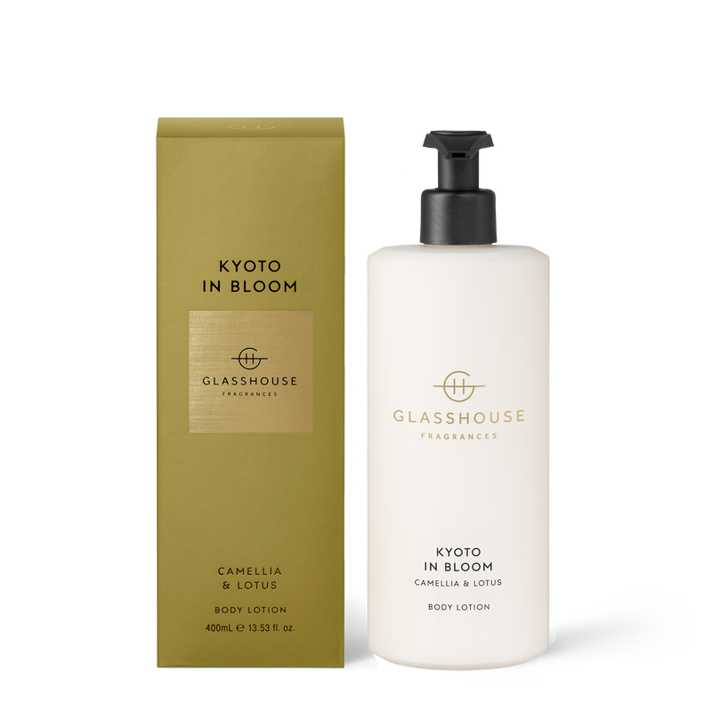 Kyoto In Bloom Body Lotion (400ml)