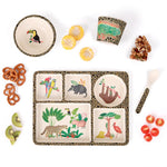 Divided Plate Set - Amazon Jungle