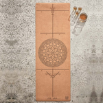 Travel Natural Cork Alignment Mat