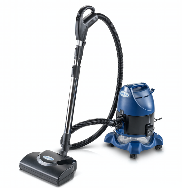Ocean Blue Water Filtration Bagless Canister Vacuum