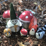 Felt Forest Gnome and Friends