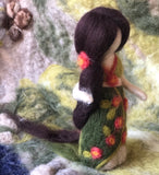 Wool Felt Forest Doll
