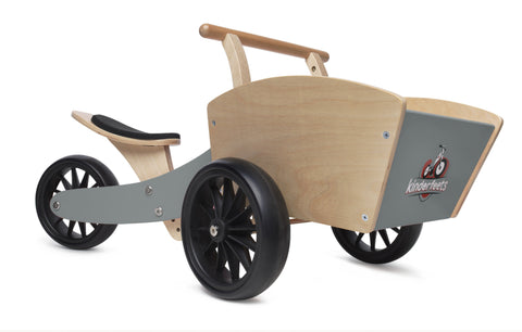 Kinderfeets Cargo Trike - Speed Grey