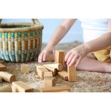 Wooden Story Blocks Natural - 30 Pieces