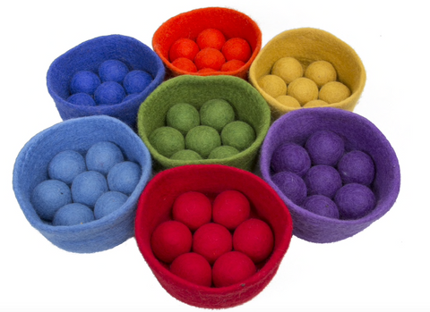 Rainbow Ball Bowl Set 56 pieces