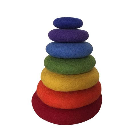 Felt Rainbow Stacking Set