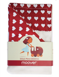Moover Dolls Pram Bedding Set