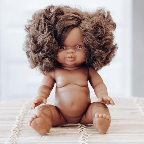 Paola Reina Gordis Doll - African Girl Marley