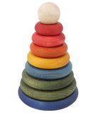 Wooden Story Rainbow Round Stacker