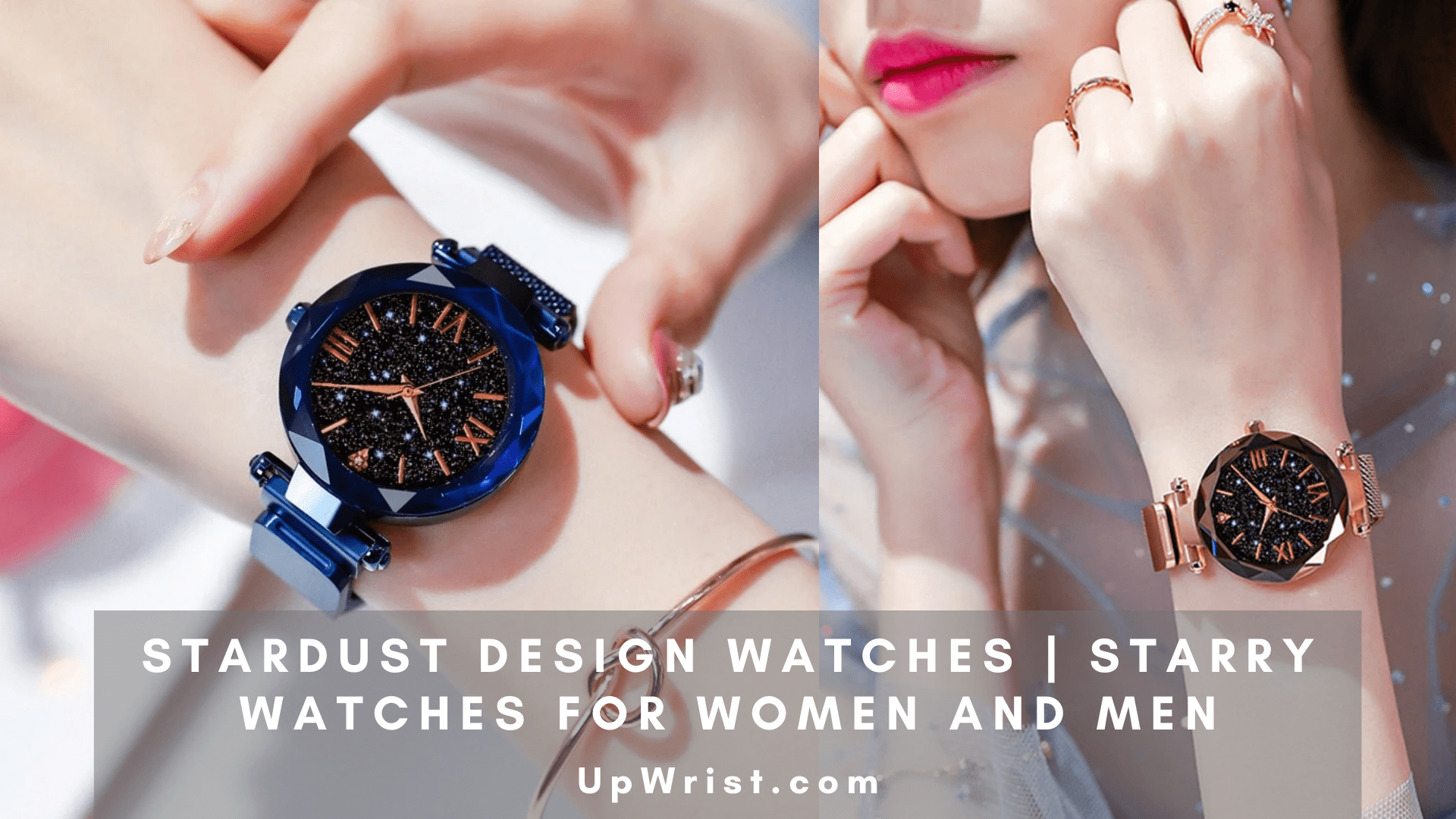 Stardust Design Watches | Starry Watches for Women and Men