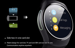 Smartwatch. Blood pressure monitor, hearth rate monitor, sleep monitor and much more... - up-wrist