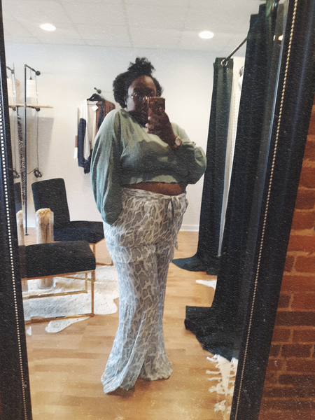 """On the Prowl"" Wide Pant Plus"