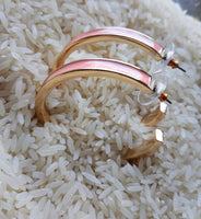 """Jenny"" Hoops Coral"