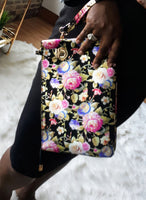 """Metalic Garden"" Clutch"