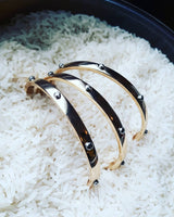 """Luxe"" Bangle Set"
