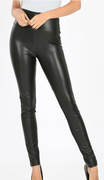 """Control Me"" Faux Leather Legging"