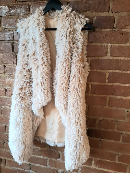 """Fure Real"" Faux Fur Vest"