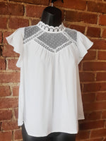 """Light Energy"" Top White"