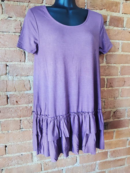 """Let Me Shine"" Top Plum"