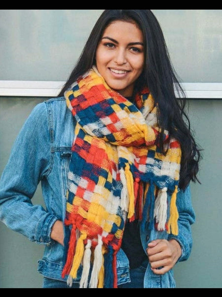 """Autumn Road"" Scarf"