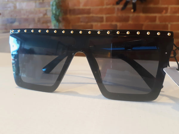 """All of the Lights"" Black Sunnies"