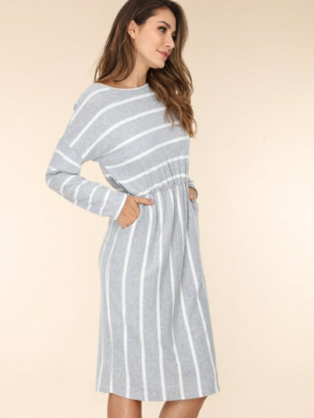 """Night is young"" Dress Grey"