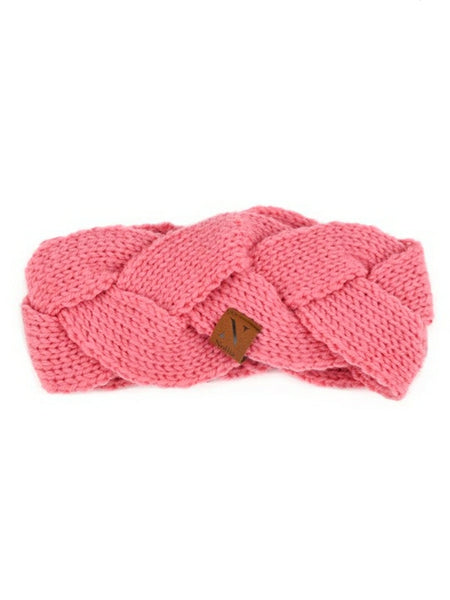 """Wrapped in you"" Head Band Pink"