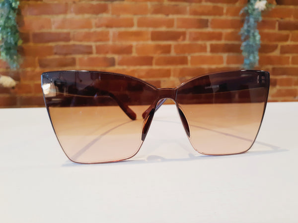 """Blush Sunnies"" Brown"
