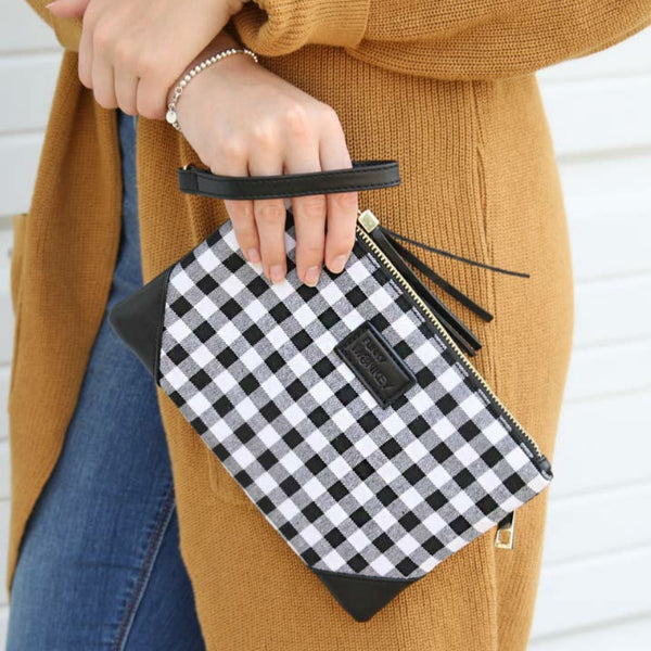 """Check Please"" Wristlet"