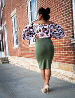 """Pencil Me In"" Skirt"