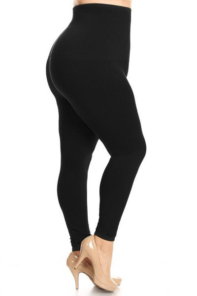 """Closet Staple"" Fleece Lined Legging Plus"