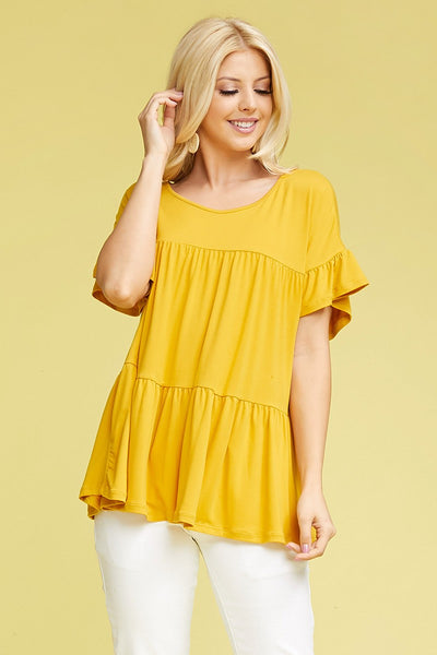 """Sunflower Fields"" Top"
