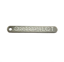Load image into Gallery viewer, ORTOPILOT Slim Keyring (57mm) v1 | 3D Printed | Limited Edition