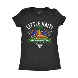 LITTLE HAITI CREST - BLACK (WOMENS) - BH09