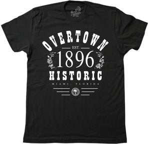 OVERTOWN 1896 - BLACK (MENS) - BH22