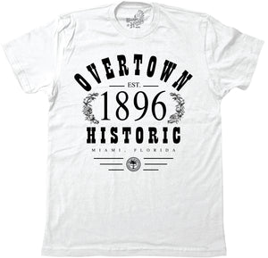 OVERTOWN 1896 - WHITE (MENS) - BH22